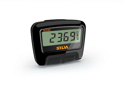 Silva Ex Step Counting Pedometer - Black/Orange