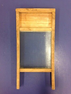 Vintage Glass Laundry Washboard Victory National Washboard Co