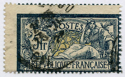 France 1900 Merson 5F Misperforated 2 Ways