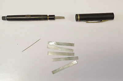 BURNISHER For relay or other contacts pocket pen sized renewer different tips