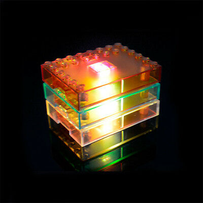 Building Blocks Display Base LED Lights Kids Toys for Children Party Gifts