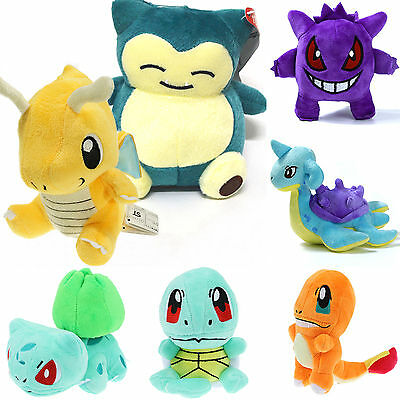 Pokemon Collectible Plush Character Soft Toy Stuffed Squirtle Doll New Xmas Gift