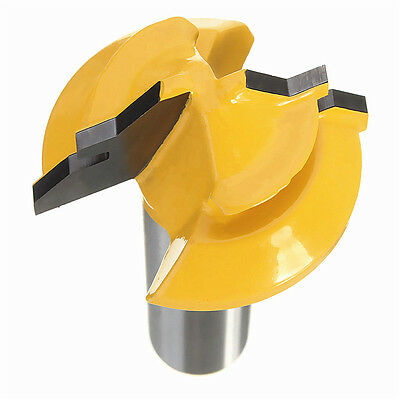 "1PC Small Lock Miter Router Bit 45 degree 1/2""Stock 1/4"" ShankTenon cutter"