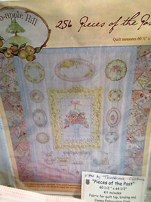 Crabapple Hill PIECES OF THE PAST Quilt KIT 60 1/2 x 64 1/2""
