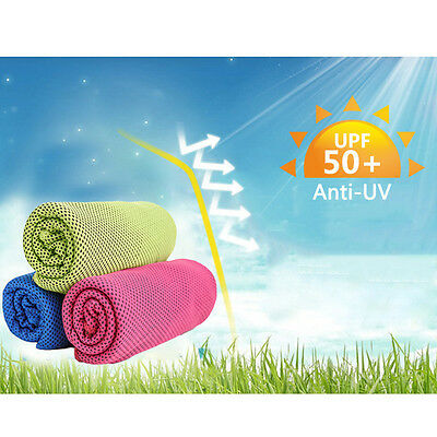 Gym Sport Cooling Towel Sweat PVA Hypothermia Summer Ice Cool Towels