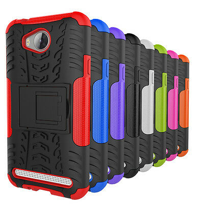 Heavy Duty Shockproof Rugged Kickstand Case Cover For Huawei Ascend Y3 II 2 Y311