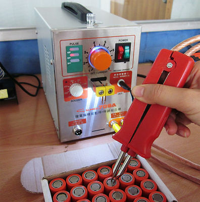 2 in 1 1.9kw Spot Welder Soldering Iron Staion 709A Battery Welding Machine 60A