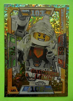 Lego Nexo Knights  LE 3 Ultimativer Lance Limitierte Auflage Trading Card Game