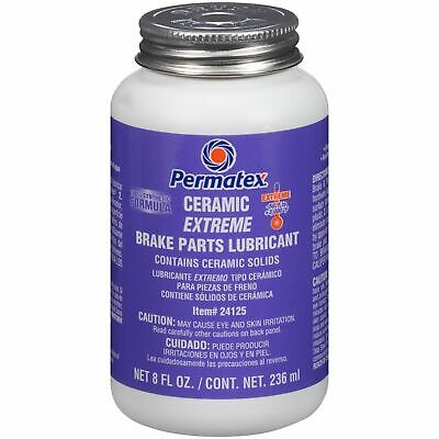 Permatex 24125 Ceramic Extreme Brake Parts Lubricant Anti Squeal Lube 8oz 236ml