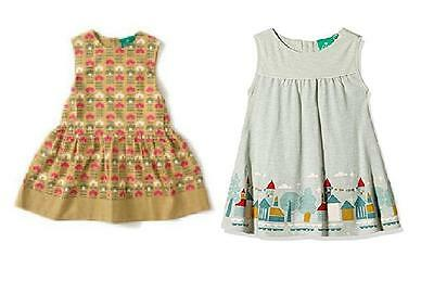 Little Green Radicals Organic Dress House on the Hill  Flowers Diamond age 5 - 6