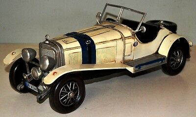 MB Roadster um 1926 Tin Car Vintage Metal Model approx. 33 cm 37431