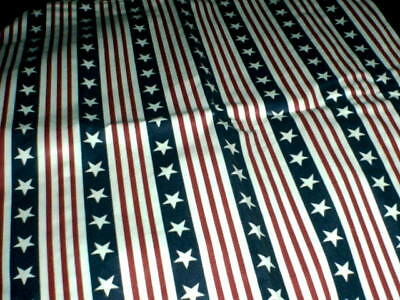 Longaberger All American Stars & Stripes Handle Tie