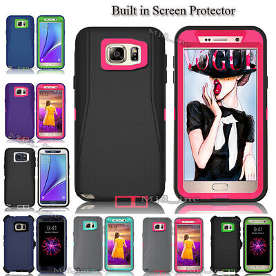 Samsung Galaxy Note 5 Defender Shockproof Case (Clip Fits Otterbox) Holster