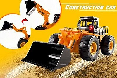 Radio Controlled Front Loader Tractor Digger Remote Control RC Toy Dumper Truck