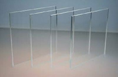 "Clear Acrylic Plastic for Picture/Poster Frames,Plexiglass 24""x48""x1/8"""