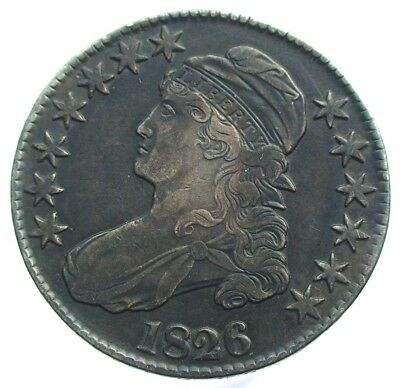 1826 USA Capped Bust Half Dollar
