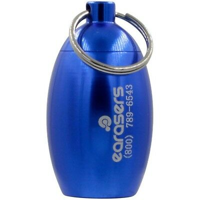 Earasers Stash Can Earplug Carrying Case - Blue