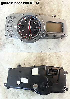 counts Km tool instrumentation dashboard the framework GILERA runner ST125/200cc