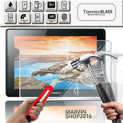 "Tablet Genuine Tempered Glass Screen Protector For Lenovo Tab A10-70 10.1"" inch"