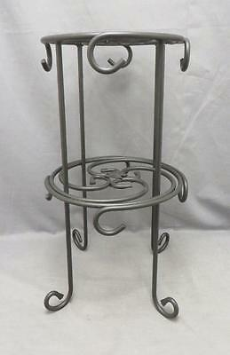 Longaberger Black Wrought Iron Mug Rack/Stand~Holds 8