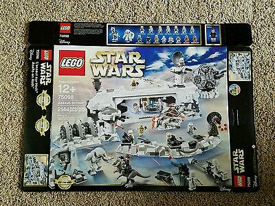Lego Star Wars Assault on Hoth 75098 Box Only