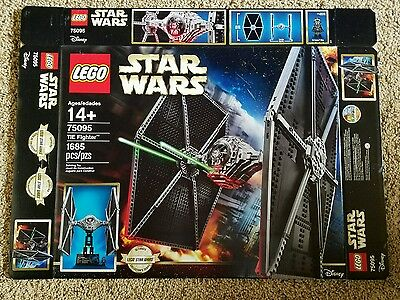 Lego Star Wars TIE Fighter 75095 Box Only