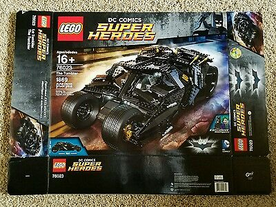 Lego DC Heroes The Tumbler 76023 Box Only