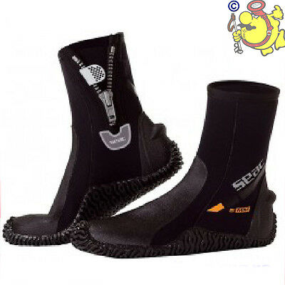 CH SEAC SUB Pro BASIC HD 5 mm Scuba Diving Hard Sole Boots size XXS