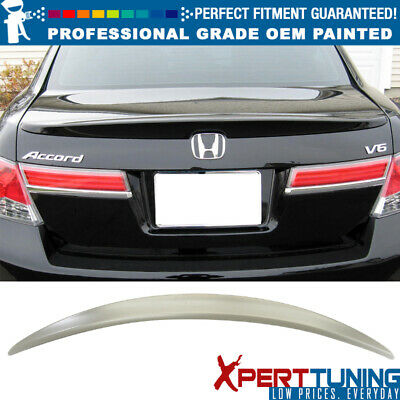 Painted Honda 08-12 ACCORD Coupe OEM type rear trunk spoiler All Color ◎