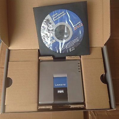 Cisco Linksys VoIP Router 2 FXS 2 RJ45 Model SPA2102-NA