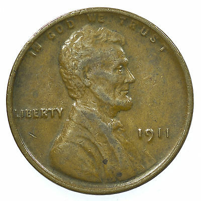 United States, Lincoln Head Cent, Usa, 1911