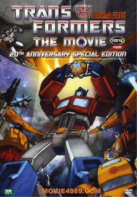 The Transformers: The Movie (1986) / Nelson Shin / Orson Welles  / DVD SEALED