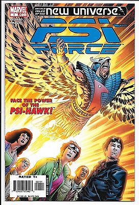 Marvel Comics - PSI Force - #1 May 2006