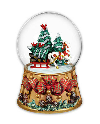Breyer Horses Holiday Traditions-Musical Snow Globe