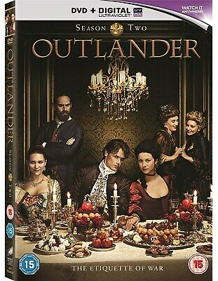 Outlander: Complete Season 2 (with UltraViolet Copy) [DVD]