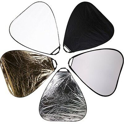 80cm collapsible 5 in 1 multi disc light reflector with handle