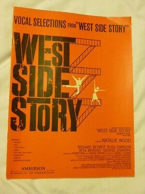 West Side Story: Vocal Selections Songbooks