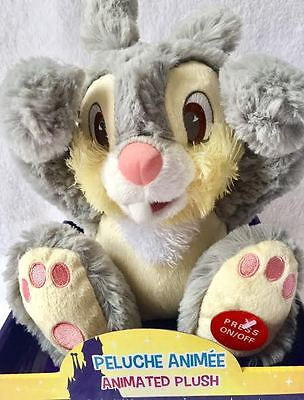 Disney's authentic animated plush soft, Musical talking, peek a boo Thumper New