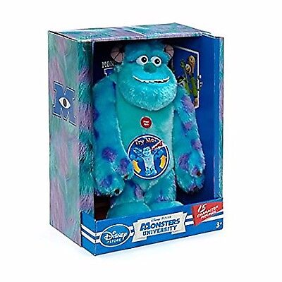 Talking Sulley Monsters University, Scare Me Soft Toy, Speaks 15 Phrases & Roars