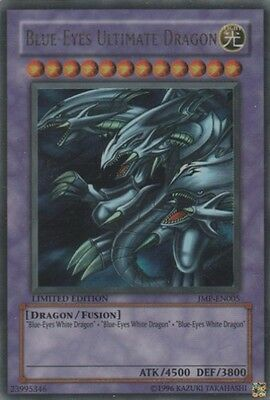 YuGiOh Blue-Eyes Ultimate Dragon - JMP-EN005 - Ultra Rare - Limited Edition Mode
