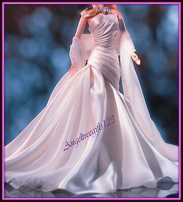 Duchess of diamonds barbie evening gown white fits silkstone model muse Barbie