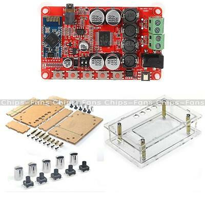 TDA7492P Audio Bluetooth CSR4.0 Receiver Digital Amplifier Board +Case 2X50W