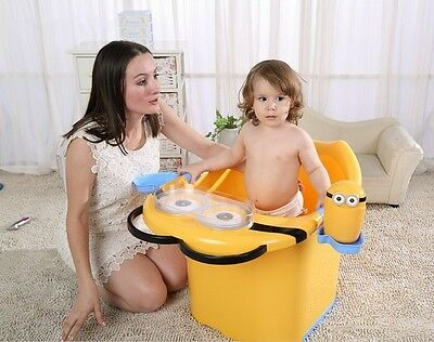 Large Thicken Baby Kids Bath Tubs Cute Cartoon Small Yellow People Plastic Tubs