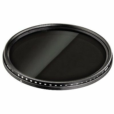 52mm ND Variable Filter Neutral Density ND2-ND400 UKFilters