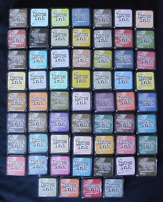(You Choose) Tim Holtz ~ Distress Mini Ink Pads ~ 60 Colours to choose from