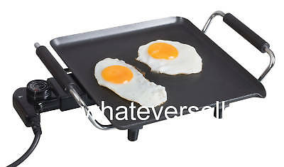 ELECTRIC GRIDDLE HOB hotplate cooker PORTABLE hot plate