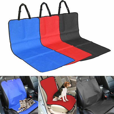 Waterproof Pet Cat Dog Back Car Seat Cover Bench Protector Mat Blanket For Dogs