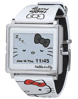 c140ef49b EPSON Smart Canvas Hello Kitty White watch Sanrio W1-HK10110 Japan F/S new