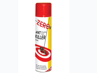 ZERO IN 300ml Aerosol Ant and Crawling Insect Killer Pesticide