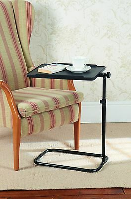 Adjustable Swivel Table For Chair Or Bed Tilting Table Top Adjustable Height